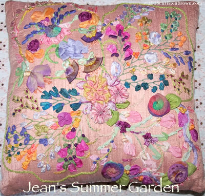 Jean's Summer Garden by Christen Brown