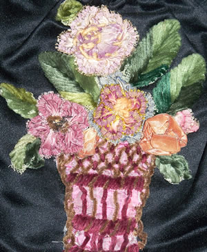 Vintage Floral Embroidery
