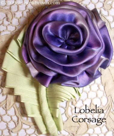 Lobelia Corsage
