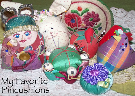 favorite pincushions