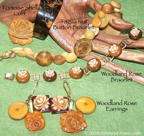 Woodland Roses- bracelets