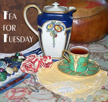 Tea and flowers for Tuesday