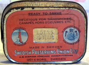 Swedish Tin Box