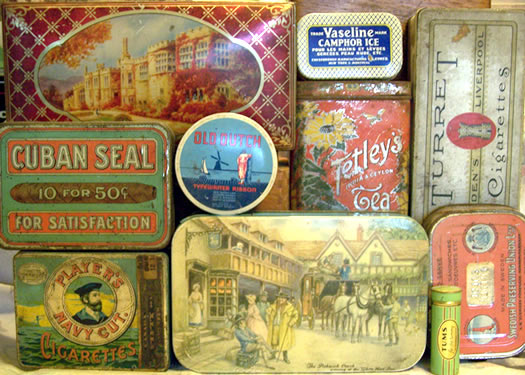 Old Tin Boxes