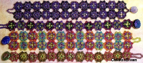 peyote stitched bracelets