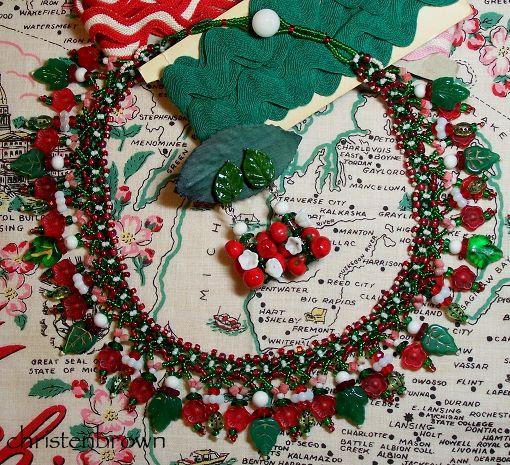 vintage beads, beaded jewelry