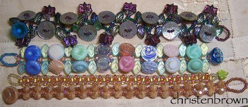 right angle weave bracelets