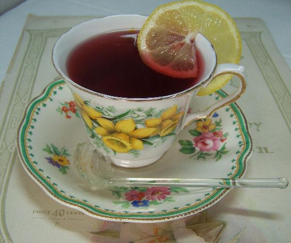 tangerine zinger tea