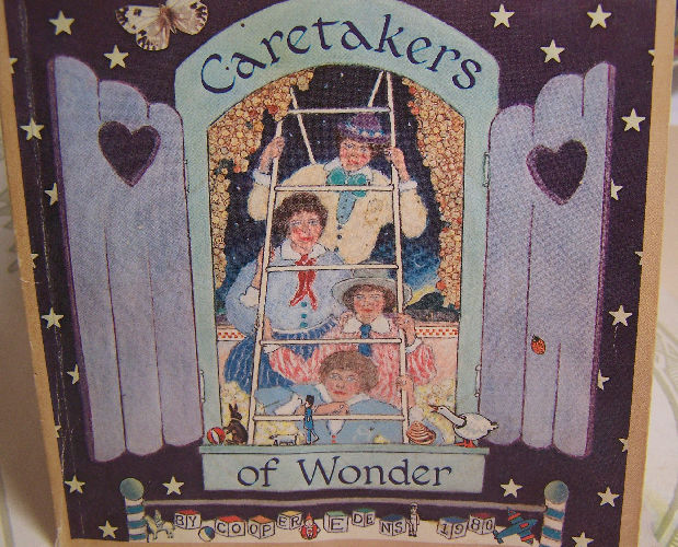 """Caretakers of Wonder"" was written by Cooper Edens,"