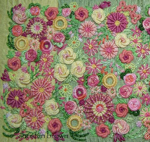 creative thread embroidery