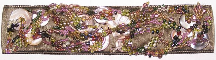 freeform bead embroidery