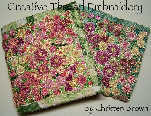 raised stitch embroidery