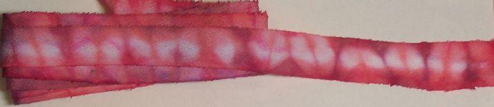 dyed ribbon