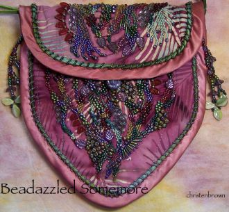 beadazzled somemore purse