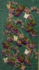 ribbonwork, silk ribbon embroidery