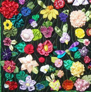 ribbonwork gardens quilt