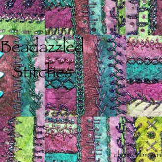 beadazzled stitches, bead embroidery