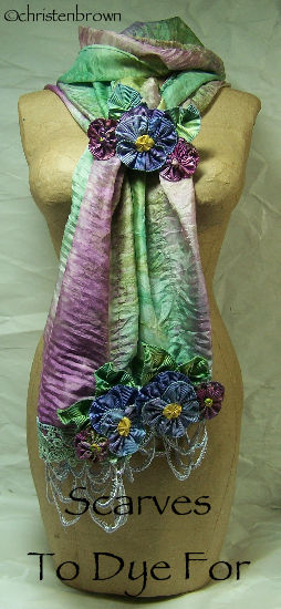 scarves to dye for