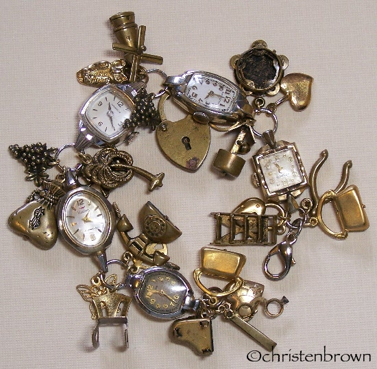 charms, watches, bracelet