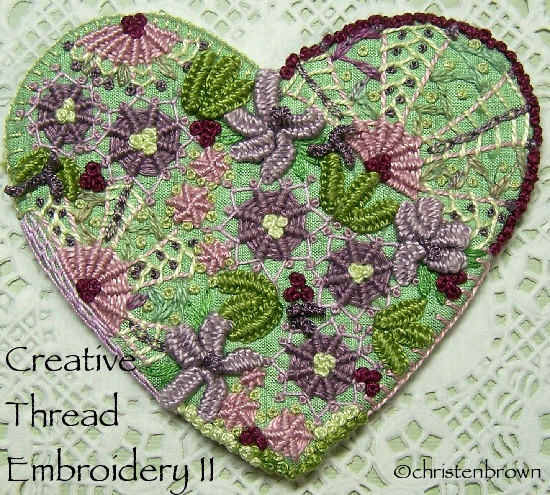 creative thread embroideryII