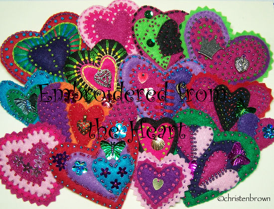 Bead embroidery christen s creations