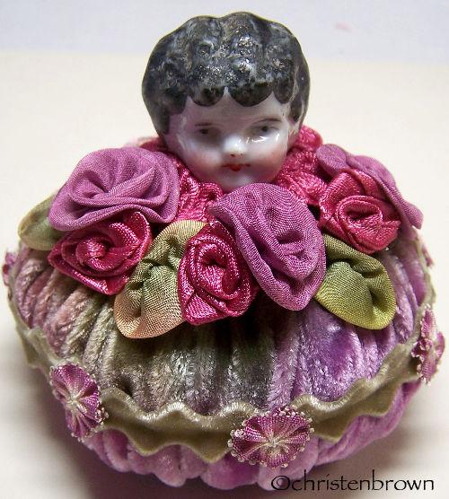 ribbonwork pincushion