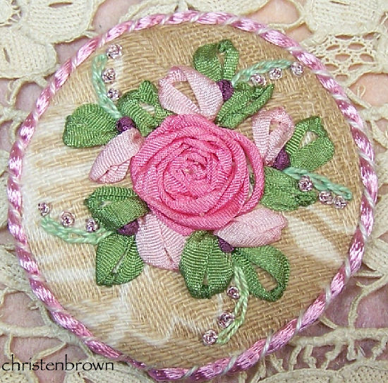 Free form hand embroidery christen s creations