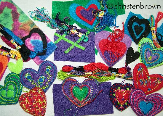 hearts in progress