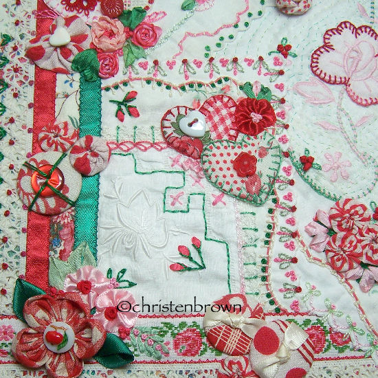 Traditional Embroidery Stitches Christens Creations